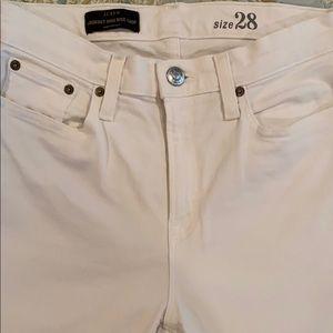 JCrew Lookout High Rise Crop Jeans